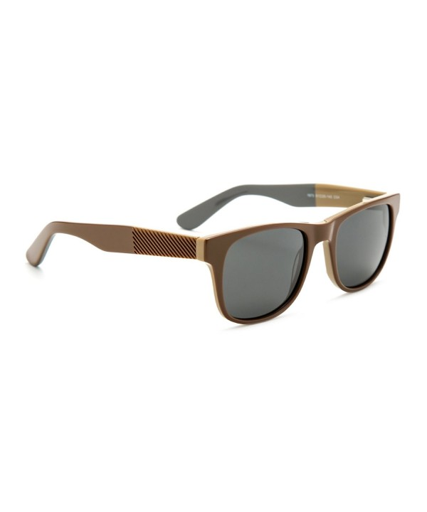 TIJN Polarized Wayfarer Stitching Sunglasses