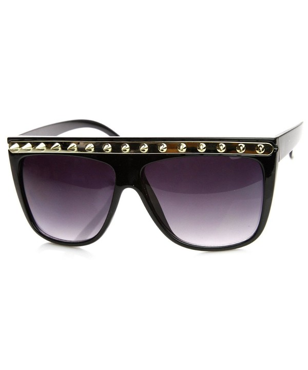 zeroUV Spiked Fashion Sunglasses Black Gold