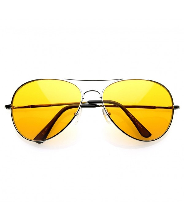 zeroUV Colorful Premium Aviator Sunglasses