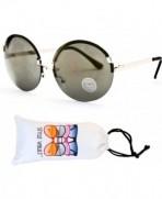 W227 vp Oversized Sunglasses E2606G Gold Light