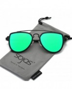 Fashion Aviator Unisex Sunglasses Mirrored