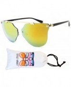 Style Vault Wayfarer Sunglasses Gold gold