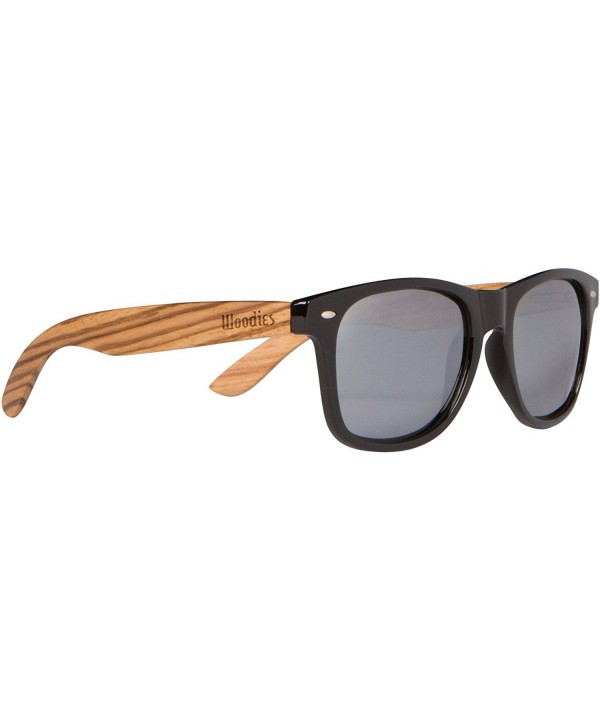 WOODIES Zebra Sunglasses Silver Mirror