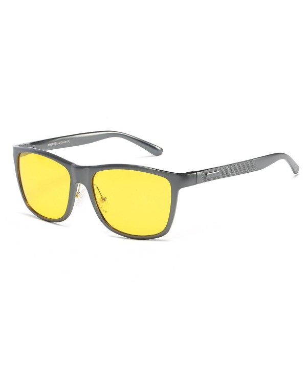 MYIAUR Anti glare Sunglasses Driving Metalgun