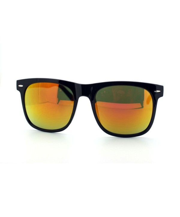 Unisex Oversized Square Sunglasses mirrored