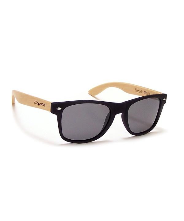 Coyote Eyewear Woodie Polarized Sunglasses