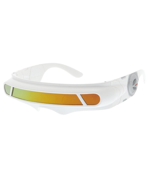 sunglassLA Futuristic Cyclops Colored Sunglasses