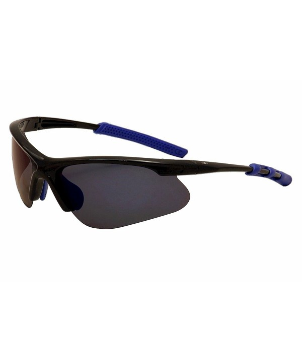 Champion Black polycarbonate Rectangular Sunglasses