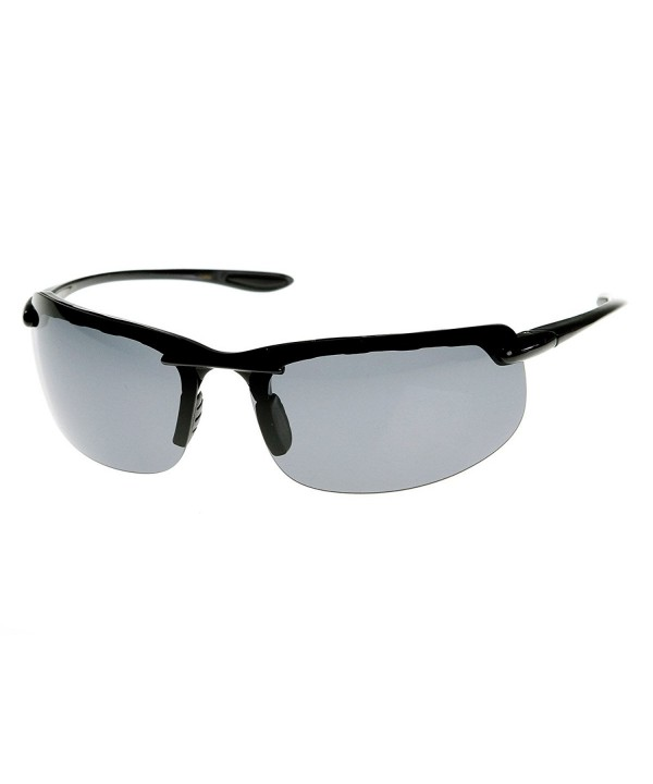 zeroUV Lightweight Polarized Rimless Sunglasses