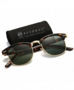 AEVOGUE Polarized Sunglasses Semi Rimless Designer