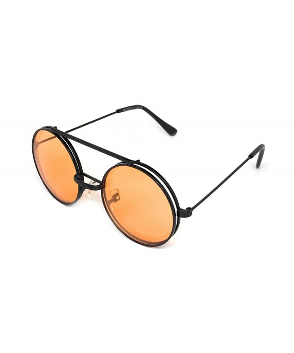 WebDeals Steampunk Django Sunglasses Orange