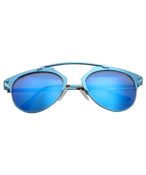 VIVIENFANG Metallic Polarized Sunglasses 86595C