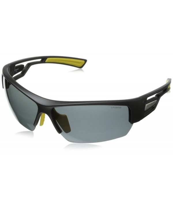 Polaroid P7410S Polarized Sunglasses Yellow