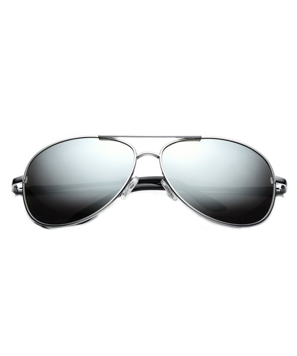 PenSee Fashion Sunglasses Polarized Mirrored