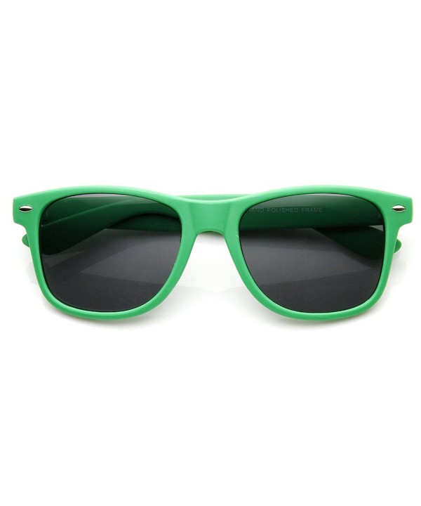 zeroUV Rubber Colorful Classic Sunglasses