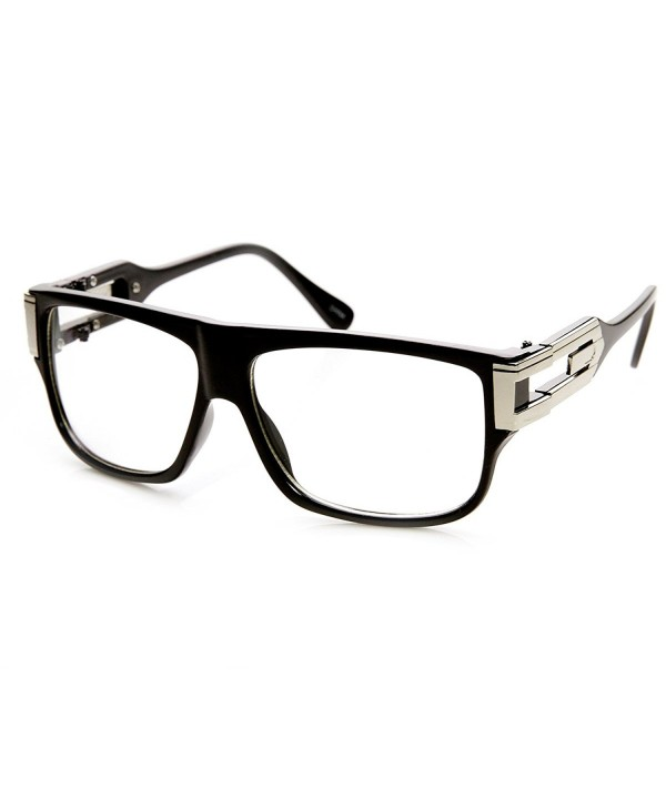 zeroUV Classic Aviator Glasses Black Silver