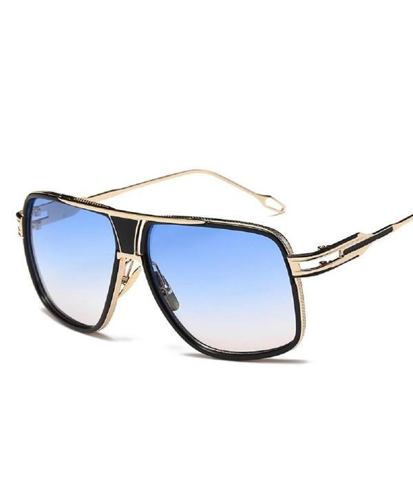 AOME Aviator Sunglasses Designer Gradient