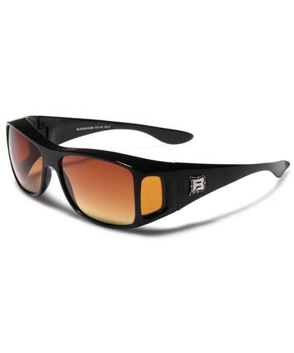Barricade Rectangular Glasses Sunglasses Shield