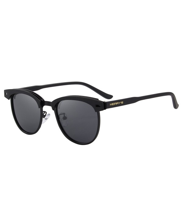 MERRYS Rimless Polarized Sunglasses Glasses