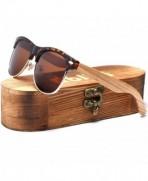 Ablibi Clubmaster Sunglasses Polarized Original