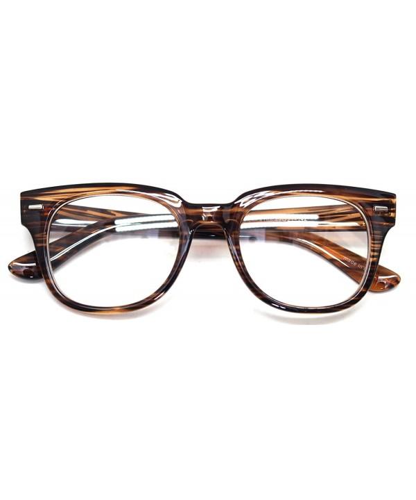 Oversized Glasses Retro Framed Spectacles