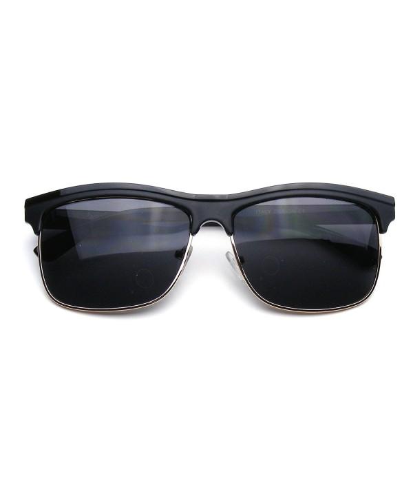 Emblem Eyewear Rimless Modern Sunglasses