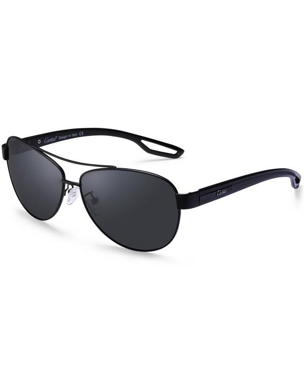 Aviator Sunglasses Polarized Protection Multicoloured