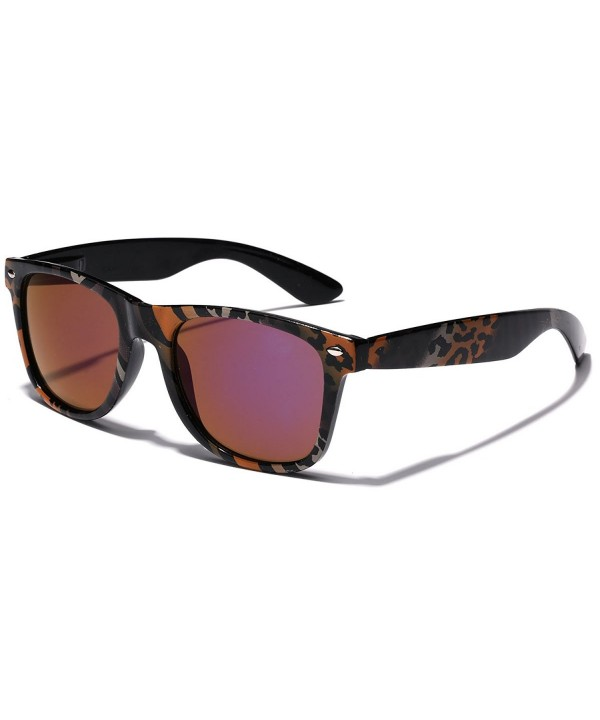Retro Fashion Jungle Sunglasses Rainbow