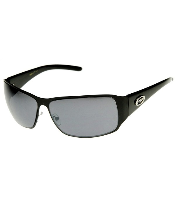 zeroUV Square X Loop Sunglasses Shiny Black