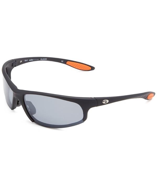 Ironman Strong Semi Rimless Sunglasses Rubberized