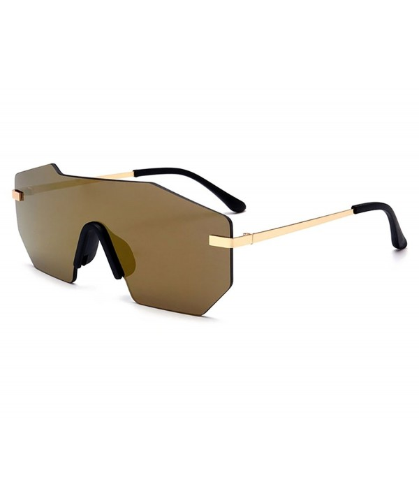 GAMT Mirrored Oversized Sunglasses Sunglass