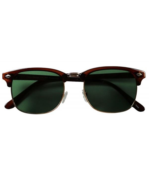 Basik Eyewear Premium Clubmaster Sunglasses