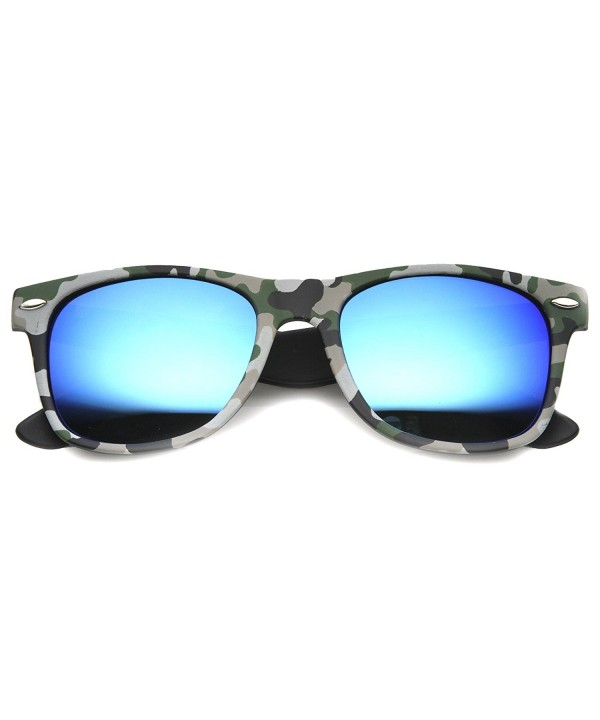 zeroUV Temple Square Colored Sunglasses