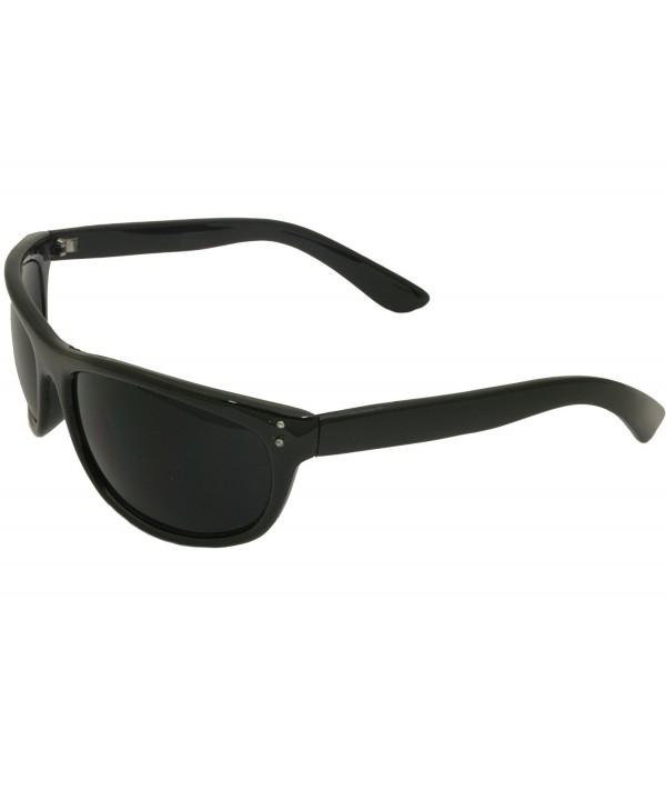 Mens Black Sunglasses Dark Shades