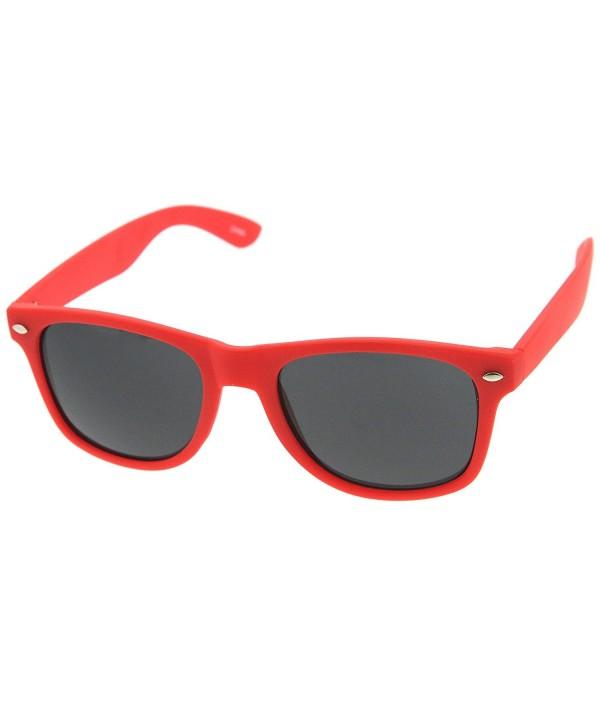 zeroUV Rubber Finish Rimmed Sunglasses