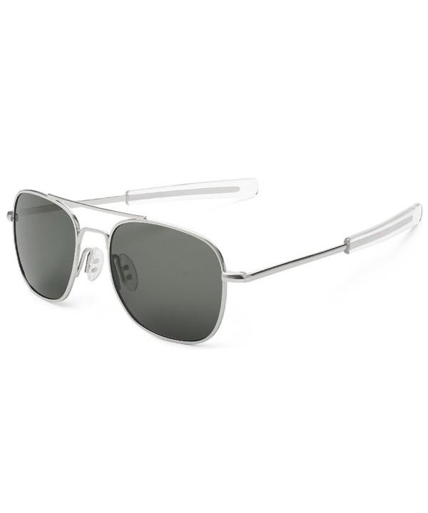 WELUK Aviator Sunglasses Polarized Military