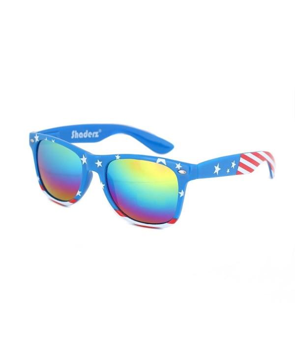 Shaderz Classic American America Sunglasses
