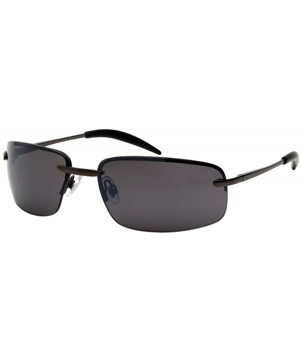 Edge I Wear Semi Rimless Sunglasses 25124S FM 4