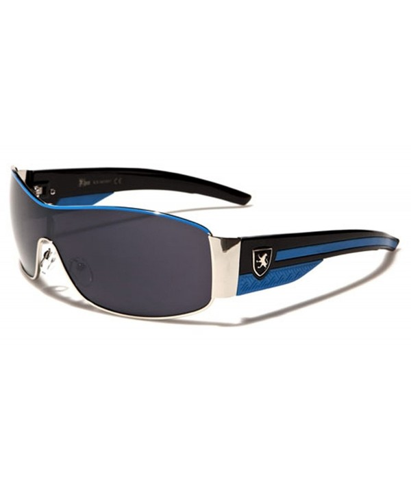Metal Frame Sport Shield Sunglasses