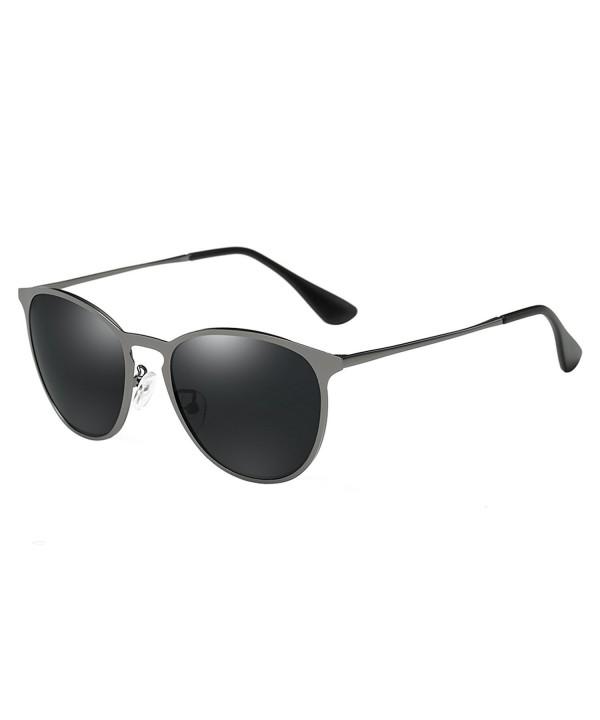BVAGSS Unisex UV400 Sunglasses Silver