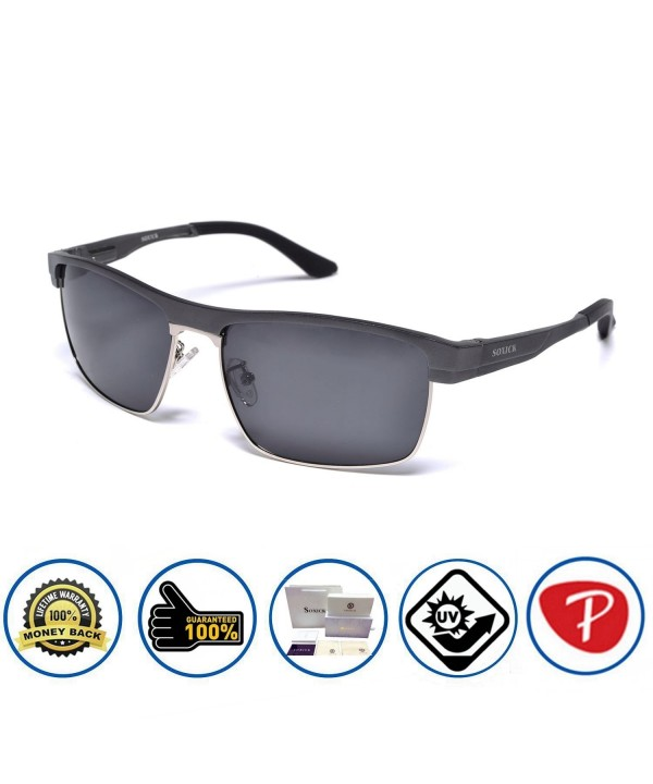 Soxick%C2%AE Polarized Square Wayfarer Sunglasses