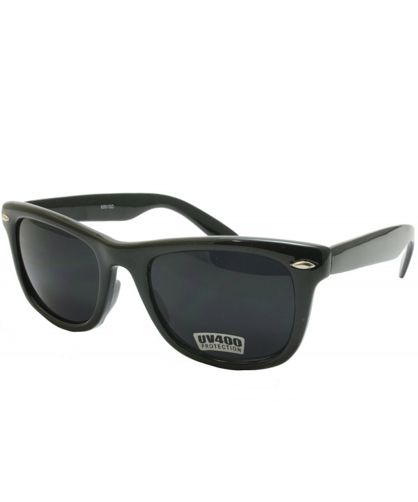 Black Classic Blues Sunglasses Super