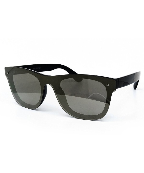 O2 Eyewear Wraparound Mirrored Sunglasses