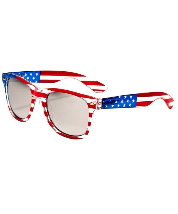 Classic American Patriot Wayfarer Sunglasses