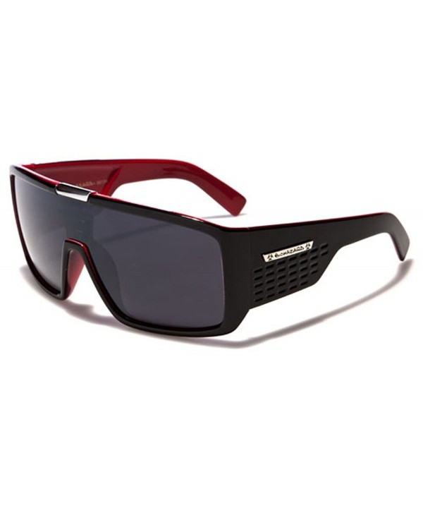 Biohazard Oversized Sunglasses Shield Style