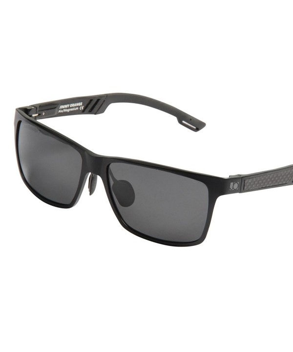 Jimmy Orange Magnesium Polarized Sunglasses
