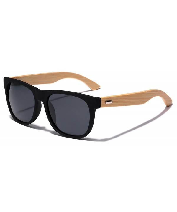 Polarized Classic Rimmed Sunglasses Temples