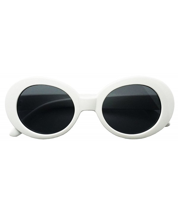Retro Fashion Thick Round Sunglasses