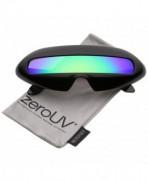zeroUV Futuristic Costume Colored Sunglasses