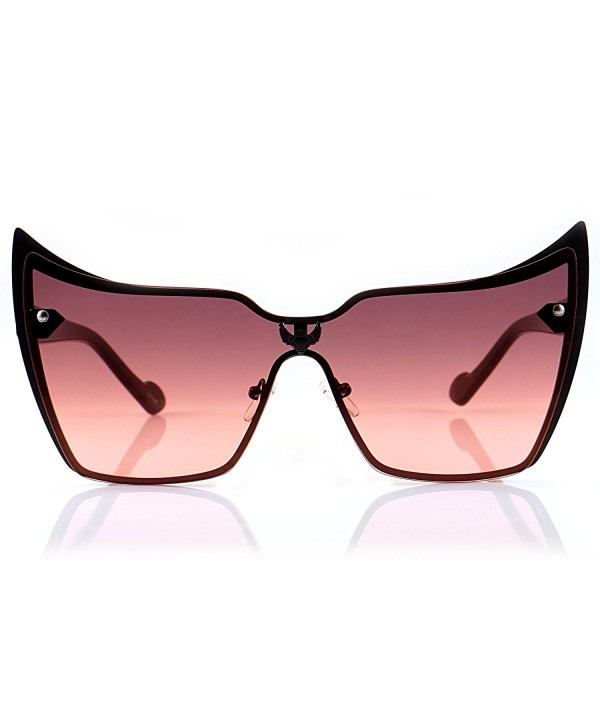Fa Beau Lux Sophisticated Gradient Oversize Sunglasses
